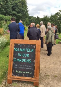 In the great Garden - Volunteer Gardeners needed